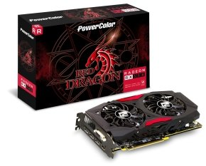 Powercolor AMD RX 580 4GB DDR5 RED DRAGON Graphics Card