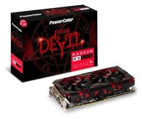 PowerColor AMD RX 580 8GB DDR5 RED DEVIL Graphics Card...