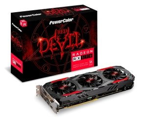 Powercolor AMD RX 570 4GB DDR5 RED DEVIL Graphics Card...