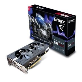 Sapphire AMD Radeon RX 580 4GB NITRO+ Graphics Card...