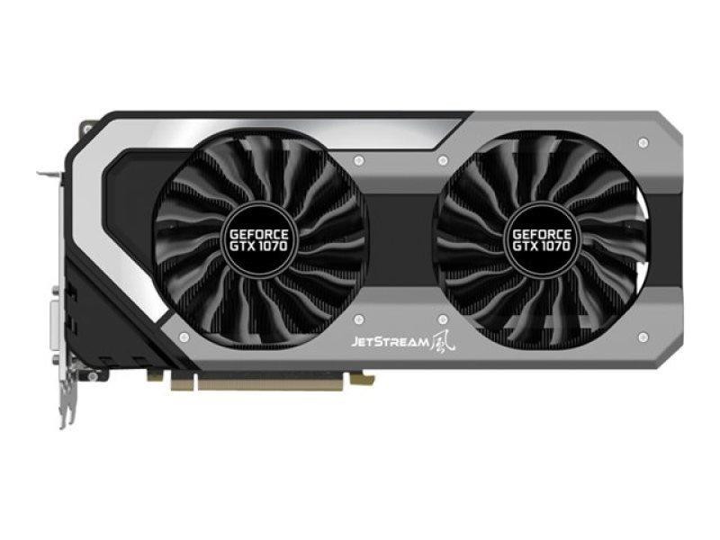 Palit GeForce GTX 1070 JETSTREAM 8GB GDDR5 DVI HDMI 3 x DisplayPort PCI-E Graphics Card