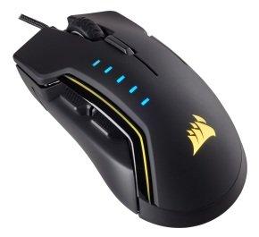 Corsair Gaming GLAIVE RGB Gaming Mouse - Black