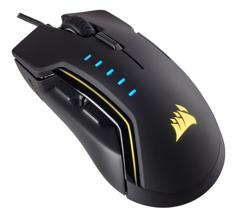 Corsair Gaming GLAIVE RGB Gaming Mouse - Black