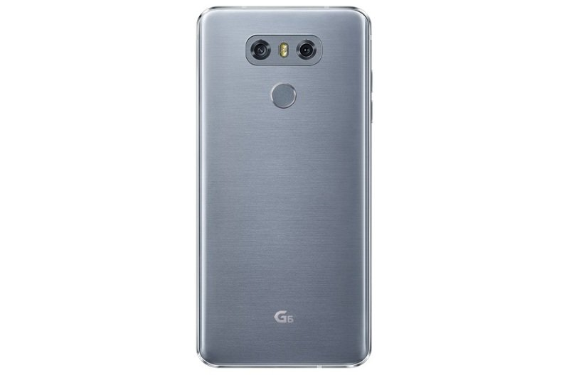 LG G6 32GB Phone - Ice Platinum