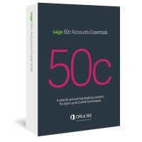 Sage 50c Accounts Essentials 12 Month Subscription - Electronic Software Download