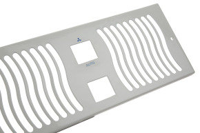 Darsley 900 White Grille