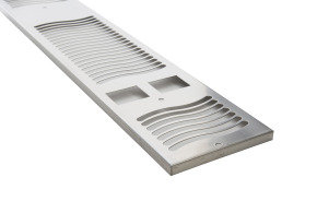 Darsley 1.9E Stainless Steel Grille