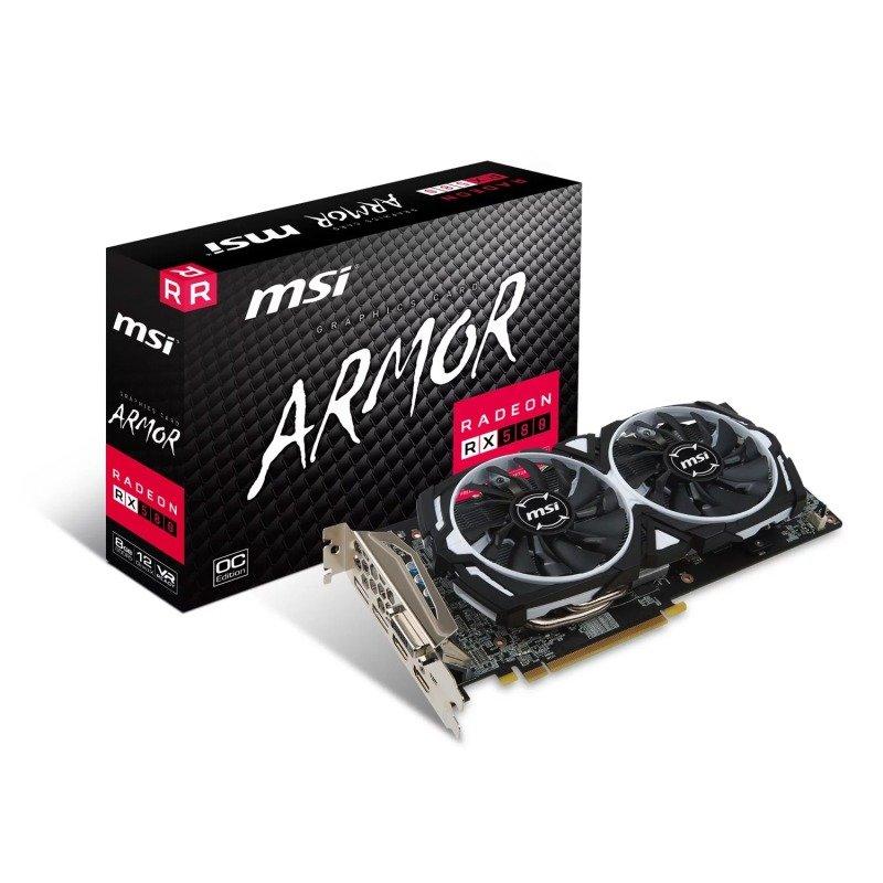 MSI AMD Radeon RX 580 8GB ARMOR 8G OC Graphics...