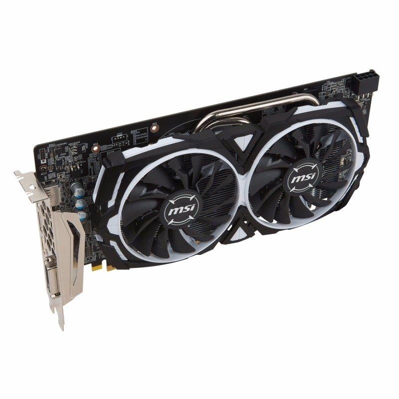 MSI AMD Radeon RX 580 8GB ARMOR 8G OC Graphics Card