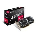 MSI AMD Radeon RX 570 4GB ARMOR OC Graphics Card