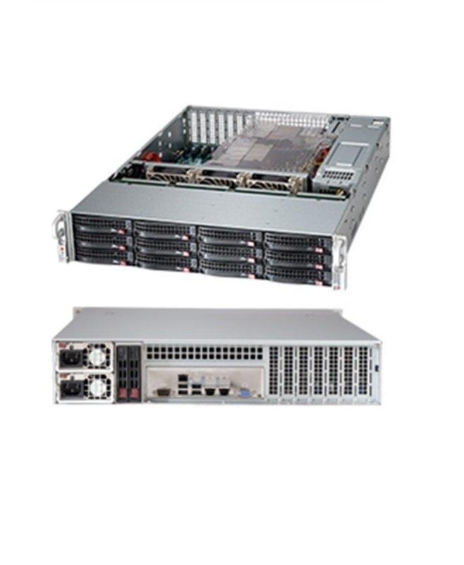 Supermicro SuperChassis 826BE16-R1K28LPB 2U Rack Server