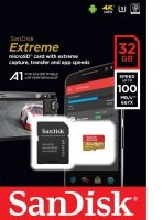 Sandisk 32gb Extreme Msdhc + Adpt A1