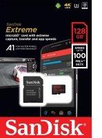 Sandisk 128gb Extreme Msdxc + Adpt A1