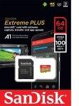 Sandisk 64gb Extreme Plus Msdxc + Adp A1