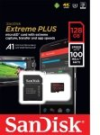 Sandisk 128gb Extreme Plus Msdxc + Ad A1