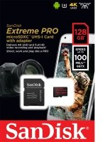 Sandisk 128gb Extreme Pro Msdxc + Adp A1