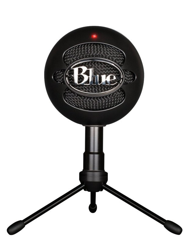 Image of Blue 101211 Microphones Snowball Black iCE