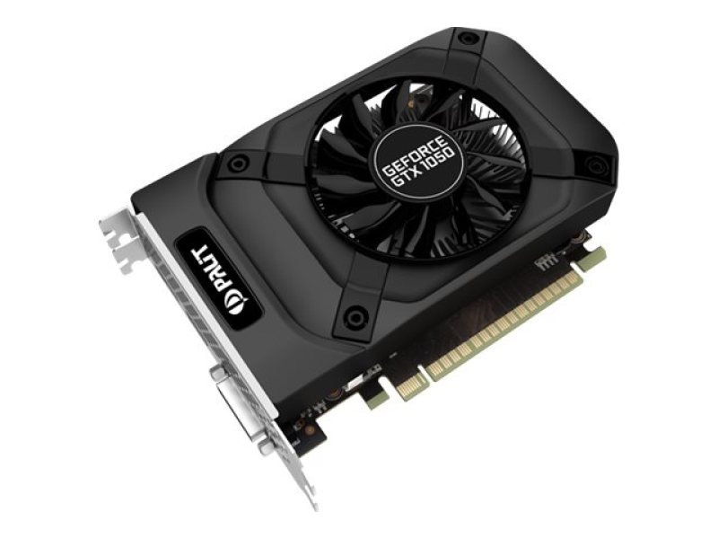 Palit Geforce GTX 1050 2GB GDDR5 Dual Link DVI HDMI DisplayPort Graphics Card