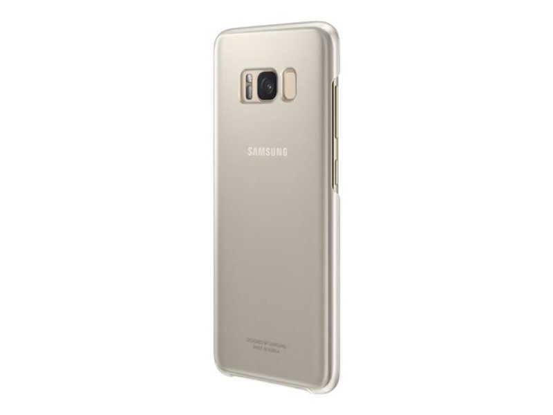 Samsung S8 Clear Cover Gold