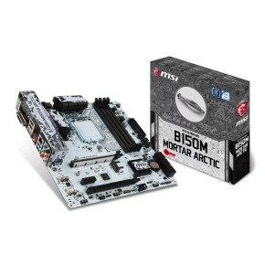 MSI Intel B150M MORTAR ARCTIC Micro ATX Motherboard