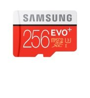 Samsung EVO Plus 256GB Micro SDHC Card