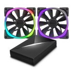 NZXT Aer RGB Premium Digital LED PMW Fan Pack