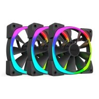 NZXT 140mm Aer RGB Premium Digital LED PWM Triple Pack