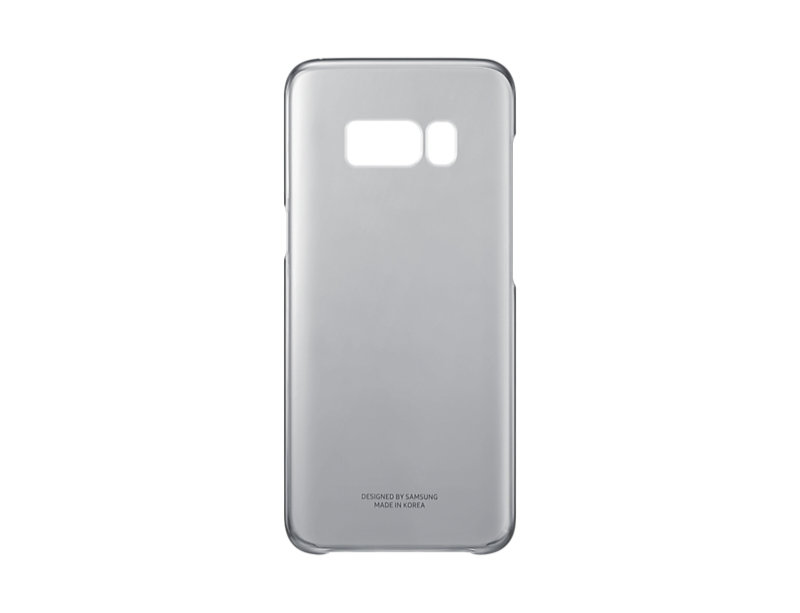 Samsung S8 Clear Cover - Black