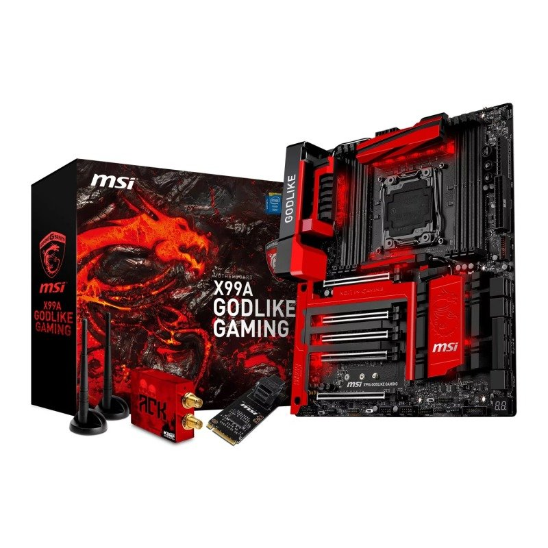 MSI Intel X99A GODLIKE GAMING Haswell Extreme Motherboard