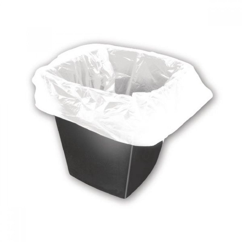 White Square Bin Liners 30 Litres (Pack of 1000)