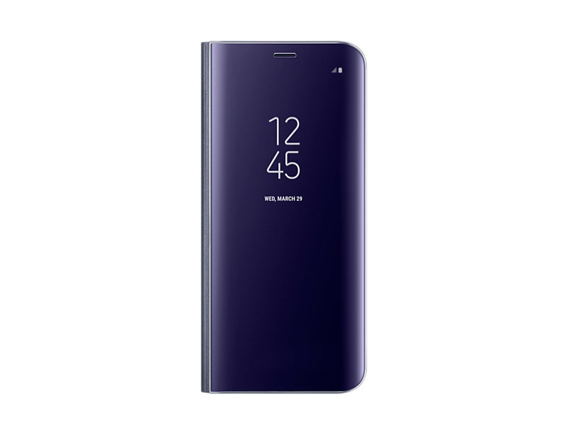 Samsung S8 Clear View Stand Cover Violet