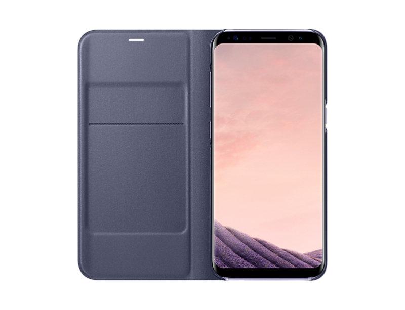 Samsung S8 Led Cover Violet