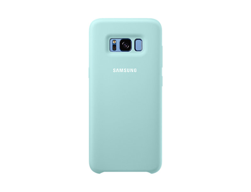 Samsung S8 Silicone Cover Blue