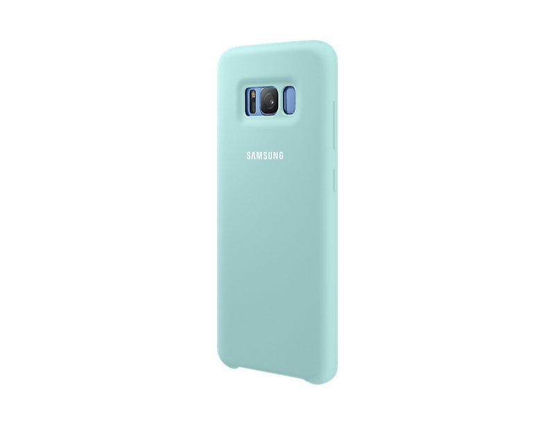 Samsung S8 Silicone Cover Blue