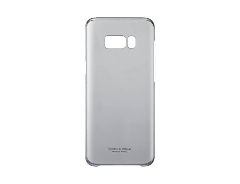Samsung S8+ Clear Cover Black