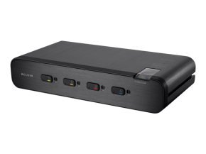 Belkin Advanced Secure Dual-Head KVM 4 Port Switch