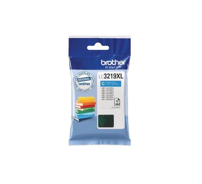 Brother LC3219XLC High Yield Cyan Inkjet Cartridge