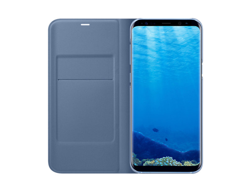 Samsung S8+ Led Cover Blue