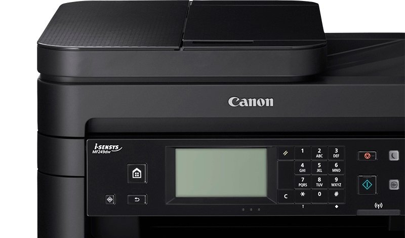 Canon i-SENSYS MF249dw Multi-Function Wireless Mono Laser Printer with  Duplex Printing
