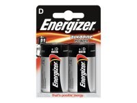 Energizer E95 D 2 Pack Alkaline Power