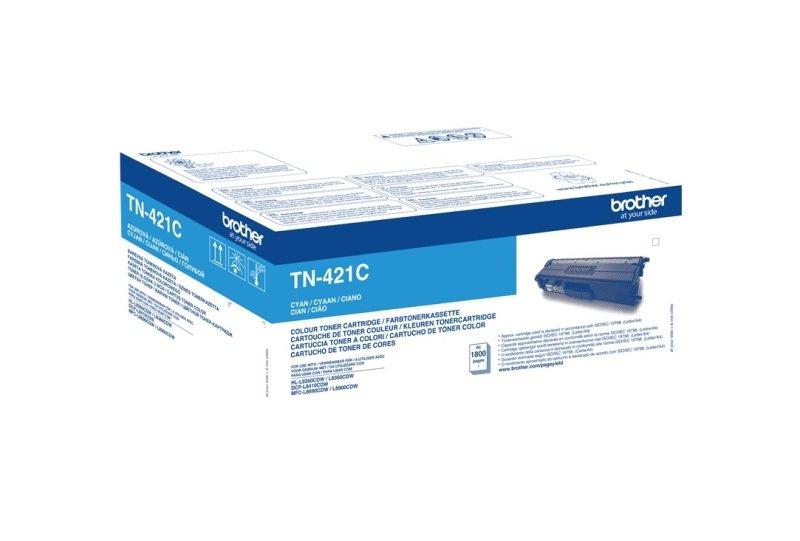 Brother TN421C Cyan Toner Cartridge