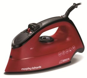 Morphy Richards 300265 Breeze Steam Iron - Red