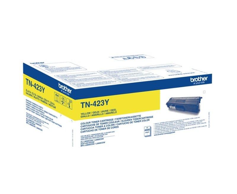 Brother TN-423Y HY Toner Cartridge - Yellow