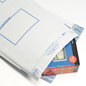Postsafe Extra-Strong Peel and Seal Polythene Envelopes Opaque - 440 x 320mm - 5 Pack