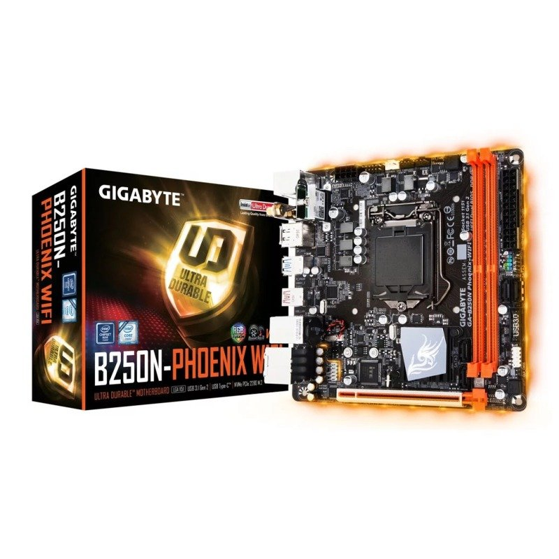 Gigabyte Intel B250N Phoenix  WiFi Kaby Lake Mini ITX Motherboard