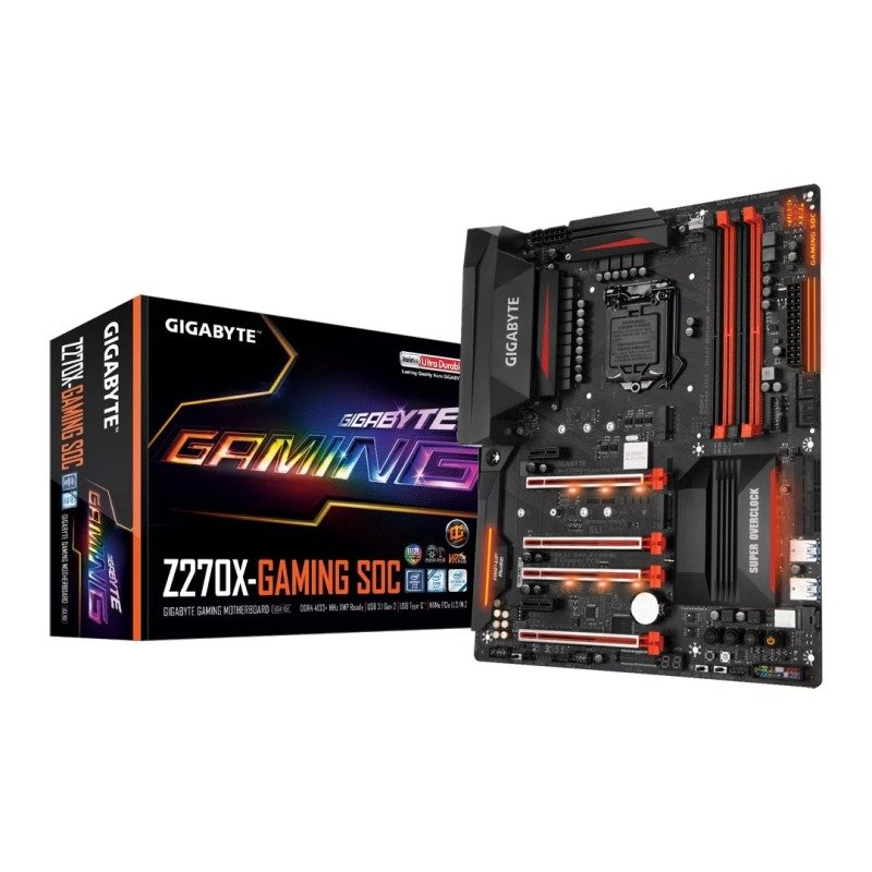 Gigabyte Intel Z270X Gaming SOC Kaby Lake OC ATX Motherboard