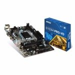 MSI Intel B150M PRO VD Micro-ATX Motherboard
