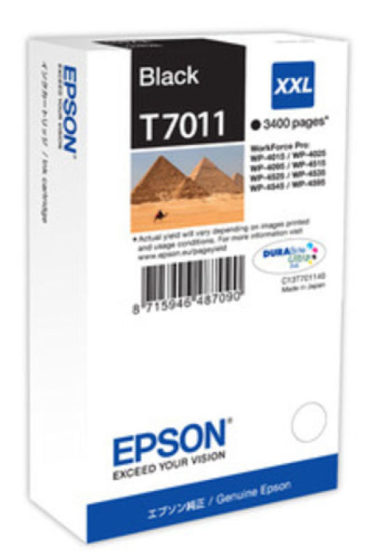 Epson T7011 XXL Black Ink Cartridge
