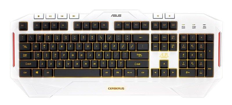 Asus Cerberus Arctic Gaming Keyboard