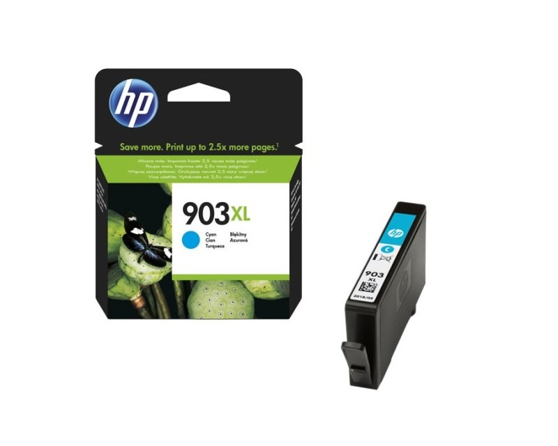 HP 903XL High Yield Cyan Ink Cartridge - T6M03AE